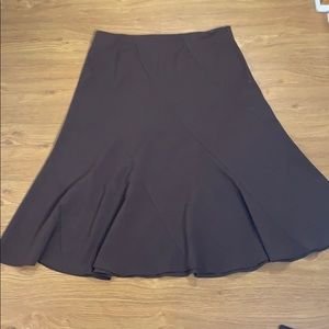 Apostrophe Size 14 Chocolate Brown Knee Length